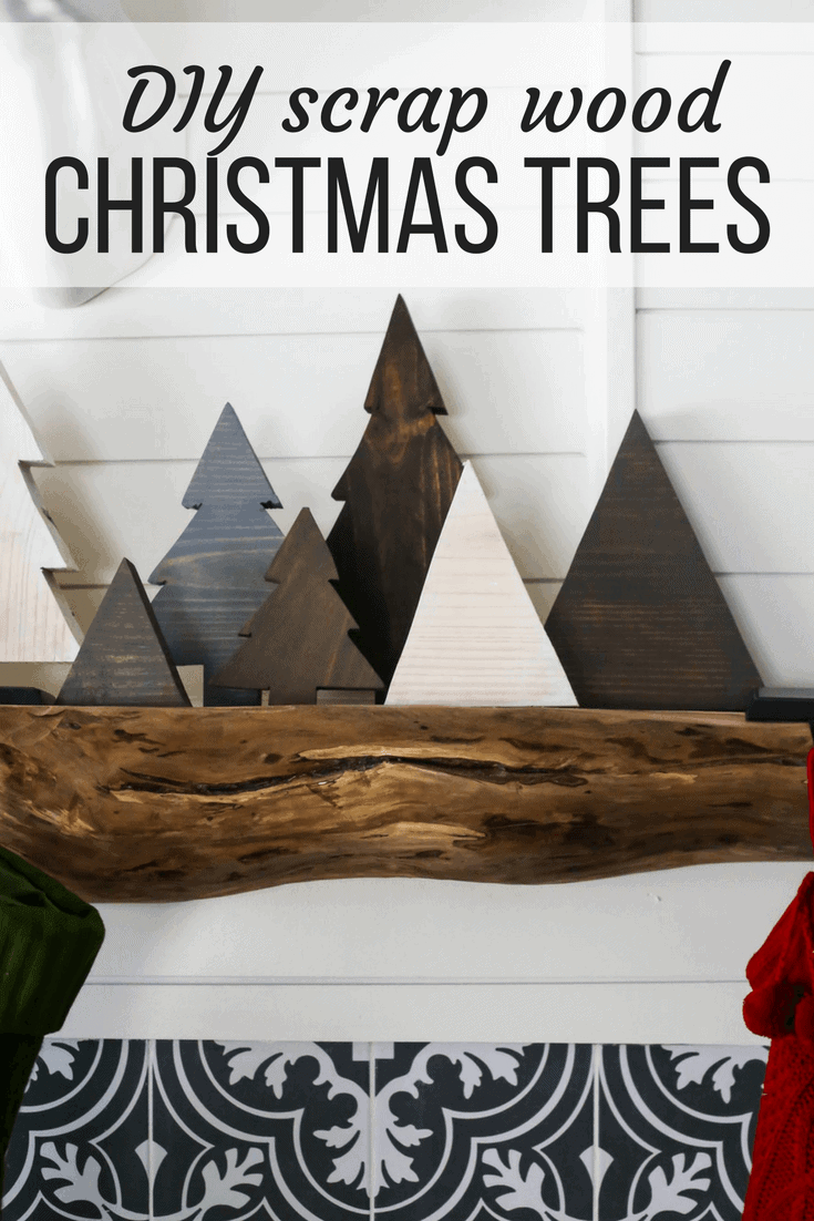 Diy Scrap Wood Christmas Trees Love Renovations