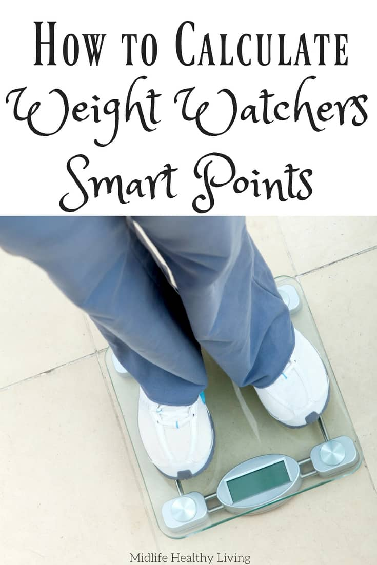 How To Calculate Weight Watchers Smart Points