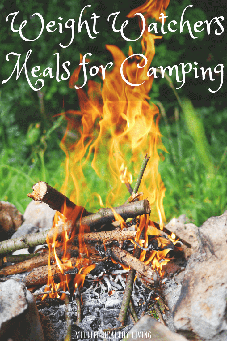 We enjoy camping and traveling in general. The biggest hurdle while camping is the food! It's easy to go with what is simple and easy but that doesn't always line up with what is healthy and Weight Watchers friendly. Today I'm sharing some of my favorite Weight Watchers meals for camping.