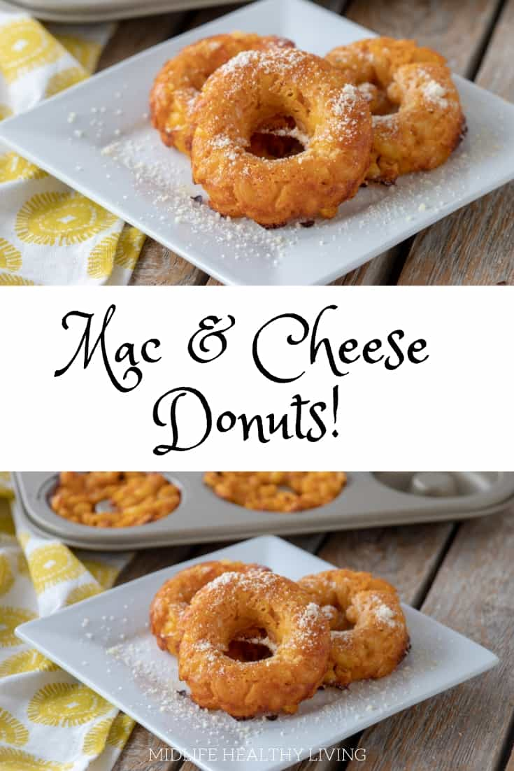 Weight Watchers mac and cheese donuts are a delicious snack! These macand cheese donuts also make a tasty appetizer and a nice on the go lunch option.