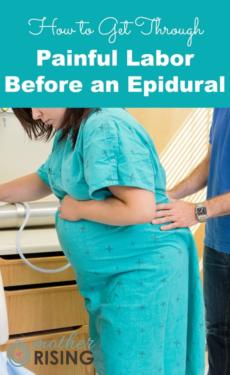 Knowing how to cope through painful labor before an epidural requires an understanding about what labor is and how it works.