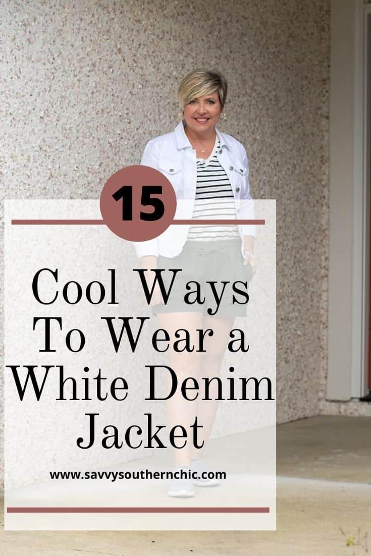 15 ways to wear a denim jacket