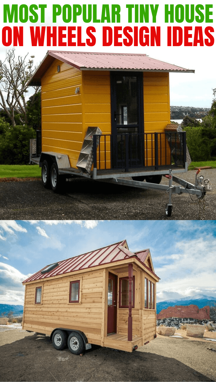 MOST POPULAR TINY HOUSE ON WHEELS DESIGN IDEAS
