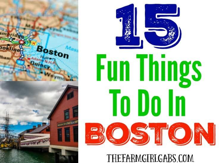 15 Fun Things To Do In Boston