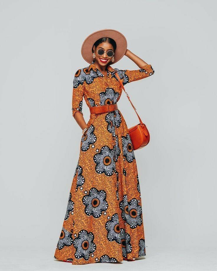 A super stylish maxi dress from ebay