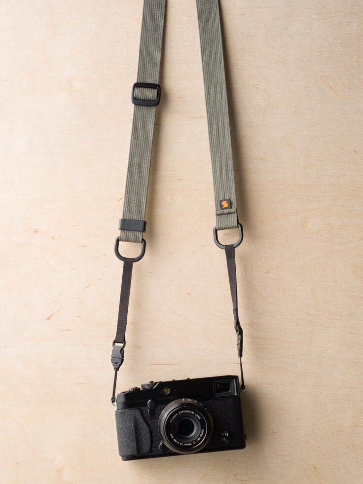 M1a Mirrorless Camera Strap in Castor Gray