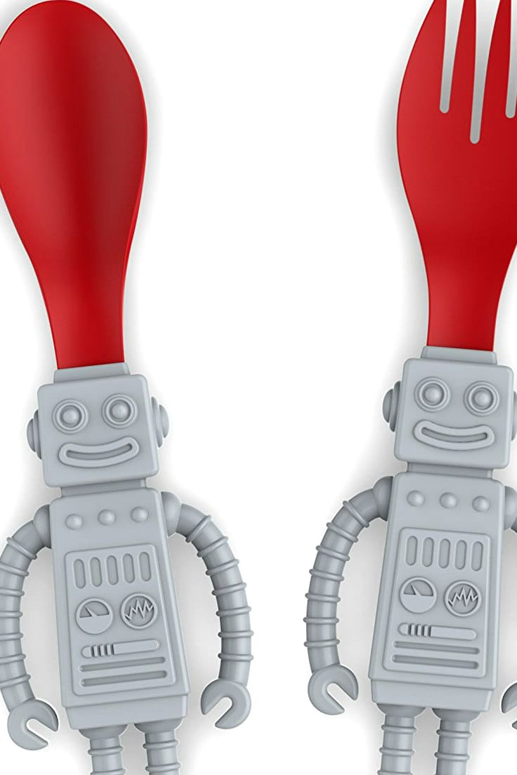 How to Have More Fun At Mealtime: Robot Utensils!