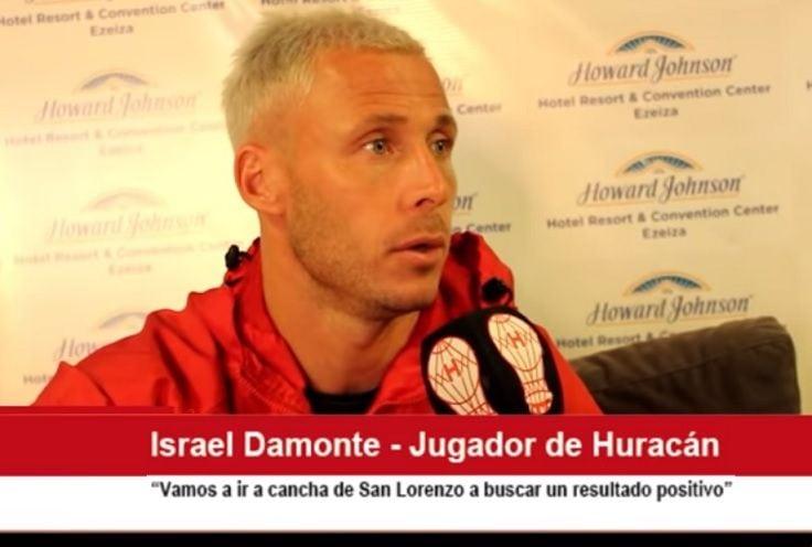 israel damonte san lorenzo hurcán
