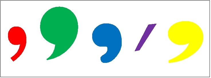 Errores y comunicación: la coma. Recursos para utilizarla bien