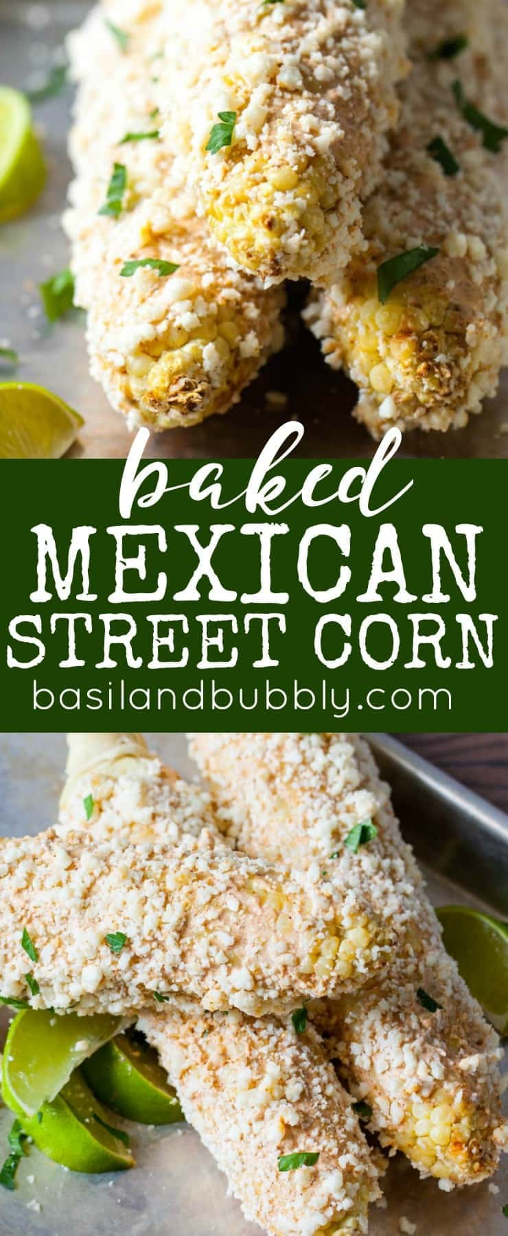Baked Mexican Street Corn Recipe