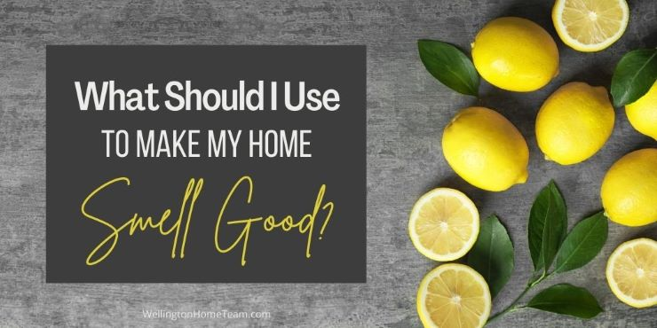 What Should I Use to Make My Home Smell Good - A Home Selling Question