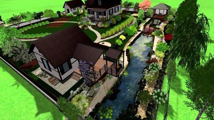 Планировка дачного участка: основные правила проектирования