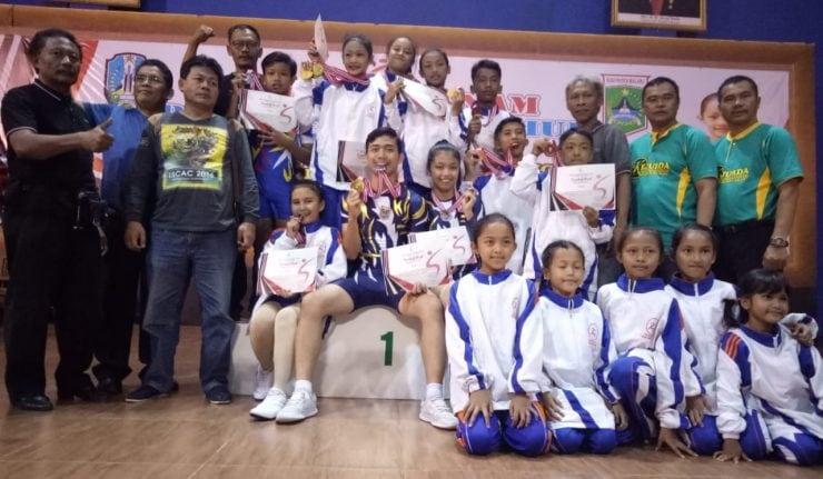 Borong Tujuh Medali, Senam Kabupaten Malang Dominasi Juara Kejurprov Jatim