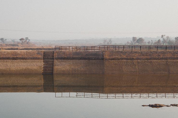 Jhelum River, som man kører langs, når man skal til min mors landsby.