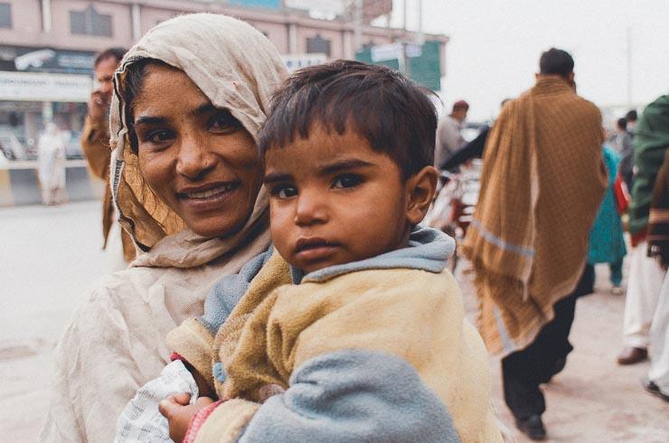 Tiggere, som jeg gav en god sjat penge mod, at jeg måtte tage et foto. Beløbet svarede til under 3 sølle kroner. Det var dog meget i Pakistan, hvor valutakursen i 2014 var meget lav.
