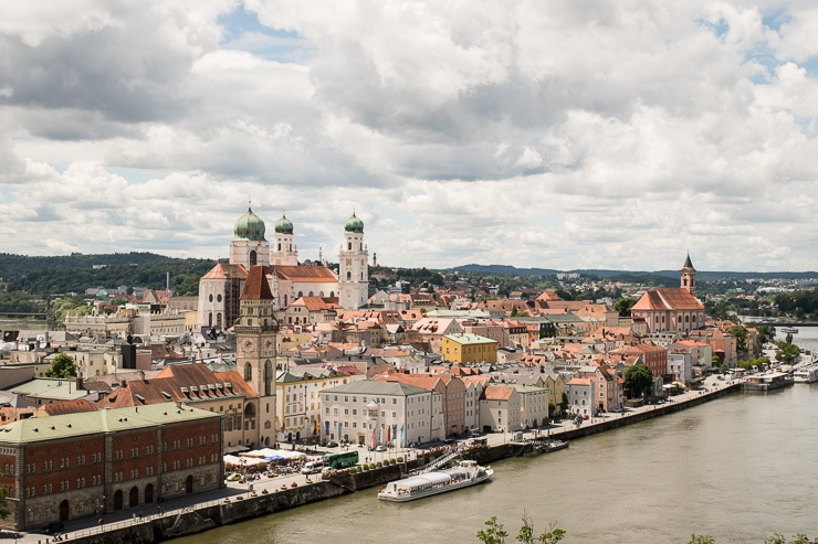 Blick auf Passau von der Feste Oberhaus - #WirEntdeckenBayern - ISARBLOG