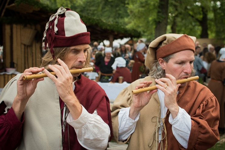 Musiker auf der Lanshuter Hochzeit 2017 - #WirEntdeckenBayern - ISARBLOG