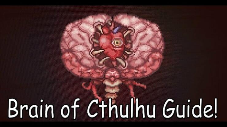 Terraria Brain of Cthulhu