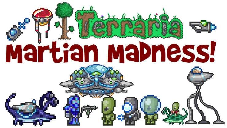 Terraria Martian Madness
