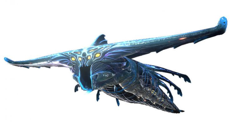 Subnautica Ghost Leviathan