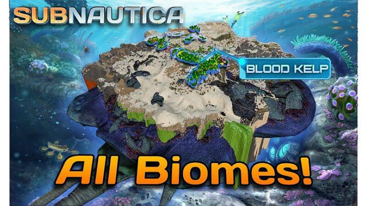 Subnautica Biomes