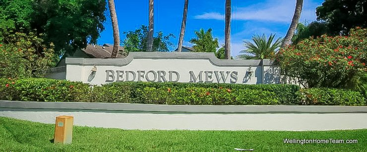 Bedford Mews Wellington Florida Real Estate and Townhomes for Sale