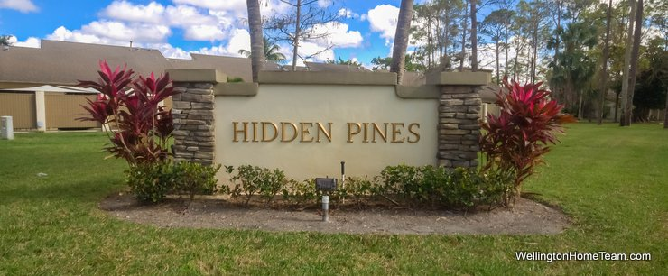 Hidden Pines Wellington Florida Townhomes for Sale and Real Estate