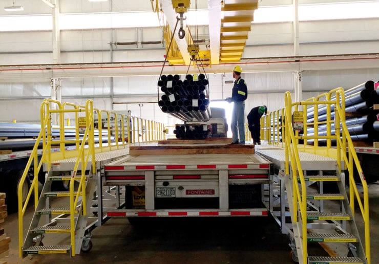 Pipe Loading Systems For Trucks