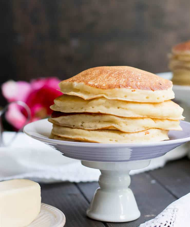 Make Ahead Breakfast Recipes. Fluffy Buttermilk Pancakes. It's easy to make classic fluffy buttermilk pancakes from scratch. This recipe makes a great base for other flavors and add ins.