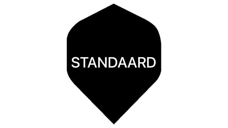 standaard darts flight