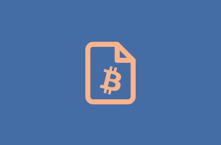 Bitcoin on paper
