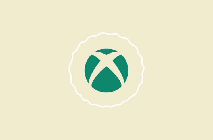 Xbox logo mark with warning signs.