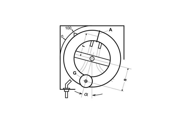 Ringwaage - Zeichnung