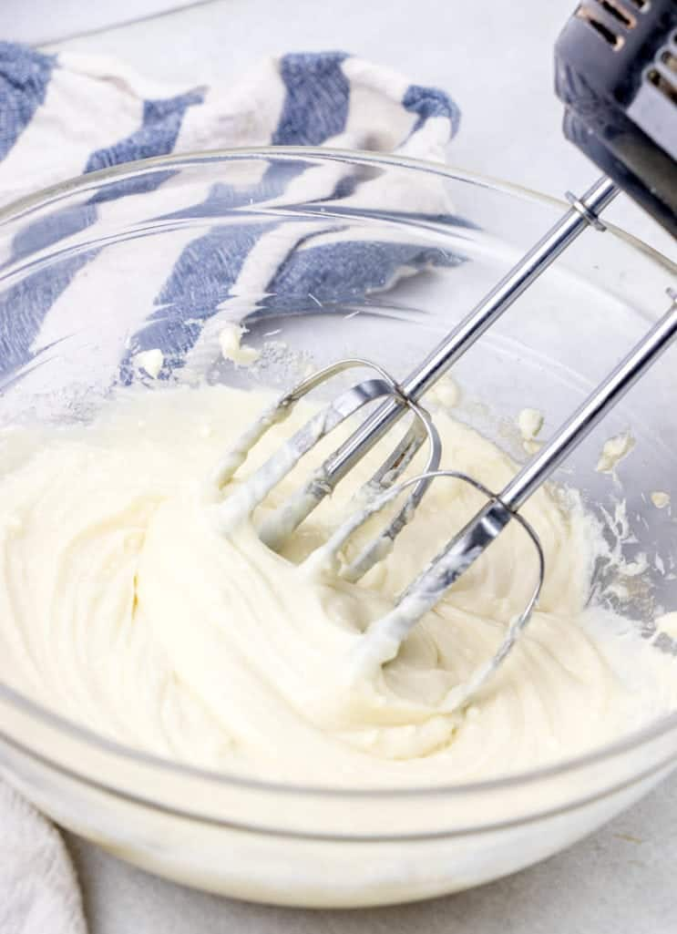 cheesecake cream cheese filling batter