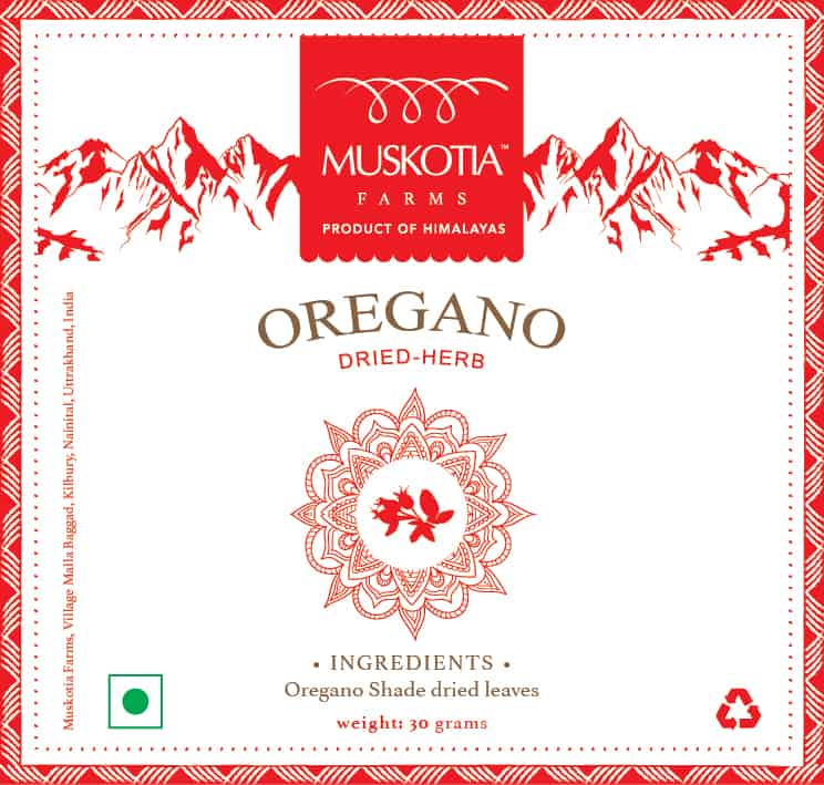 Muskotia Oregano Shade Dried Herb