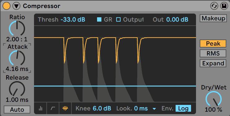 Ableton Live Compressor