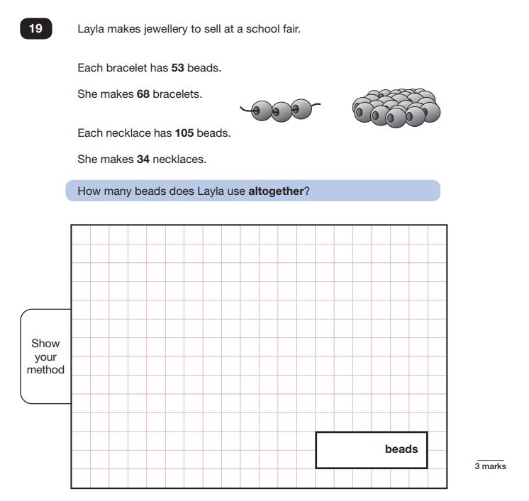 KS2 SATS 2019: Maths Papers Question Breakdown