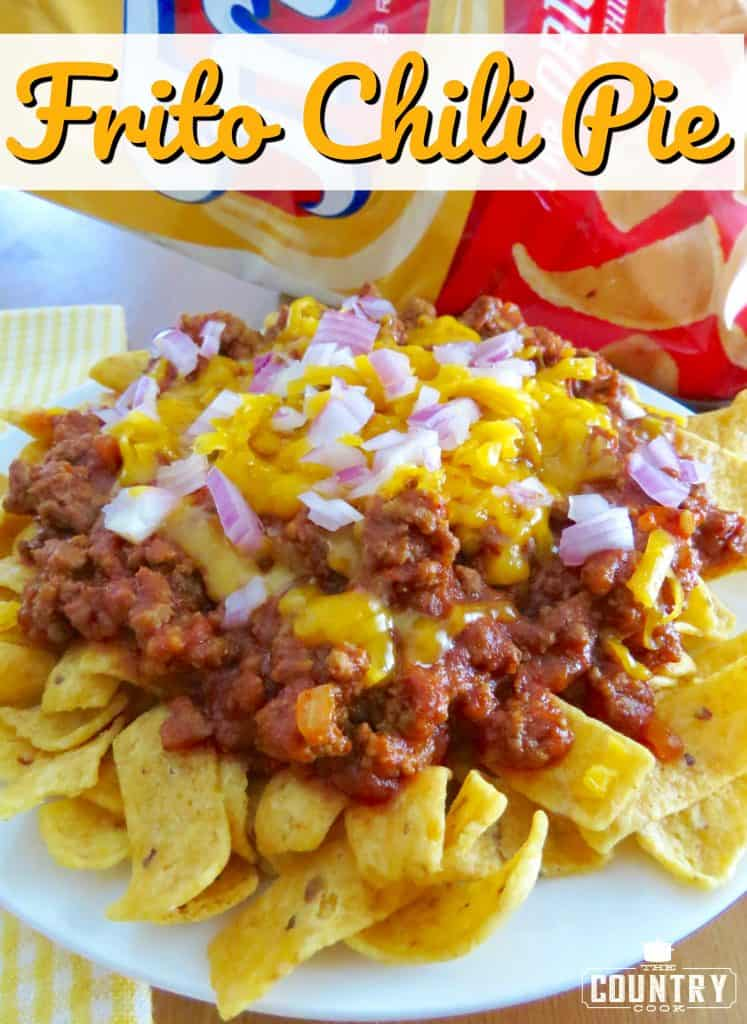 Frito Chili Pie recipe from The Country Cook