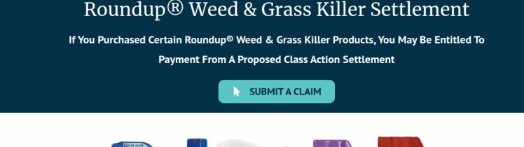 Roundup WGK Submit a Claim Logo