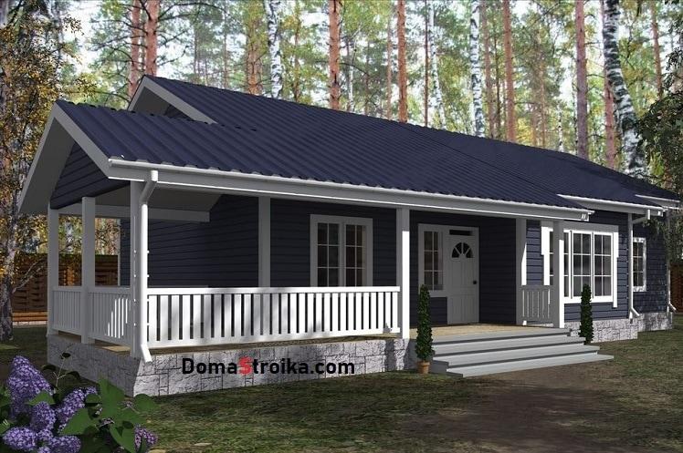 Одноэтажный каркасный дом своими руками: особенности строительства