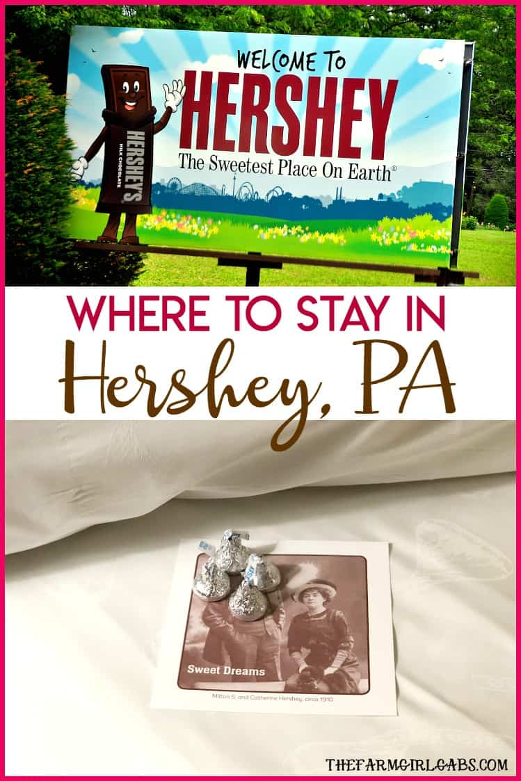 Planning a visit to the Sweetest Place on Earth soon? Here are my tips on Where To Stay In Hershey. #HersheyPA #HersheyPark #Pennsylvania #Chocolate #TheSweetestPlaceOn Earth