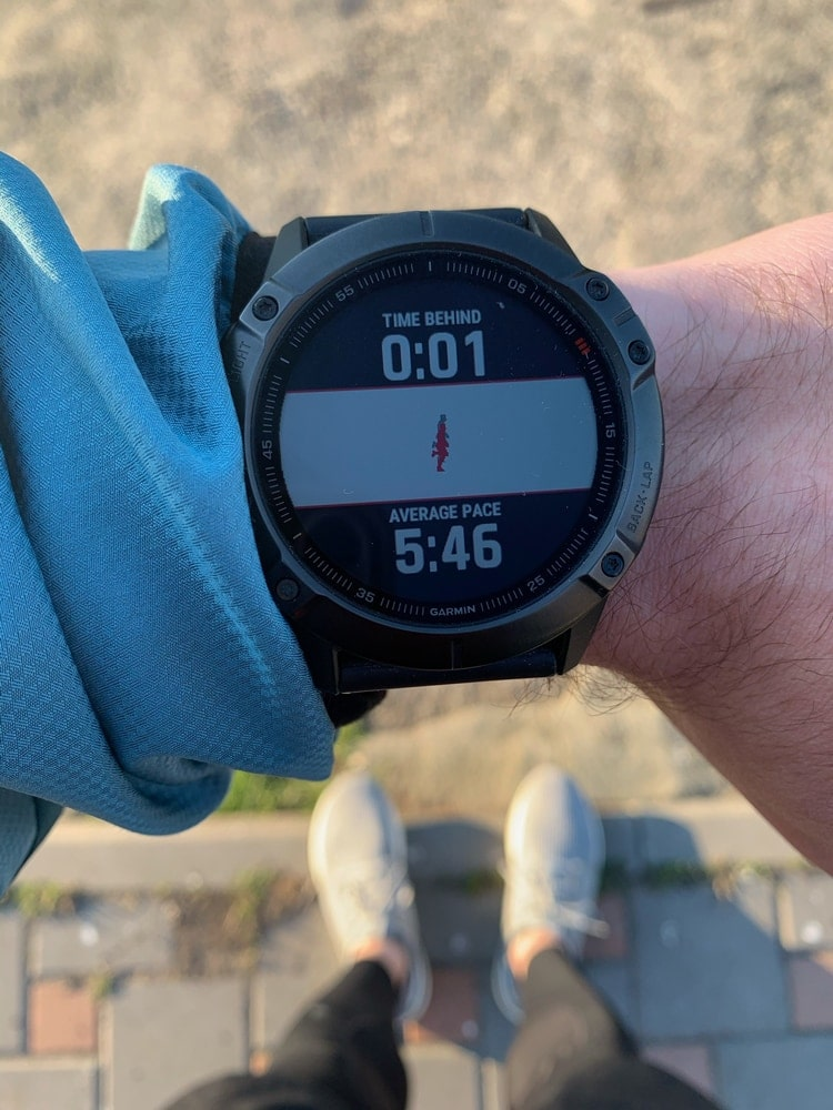 Garmin 6x Pro Virtual Partner