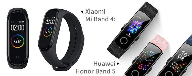 Xiaomi Mi Band 4 vs Huawei Honor Band 5