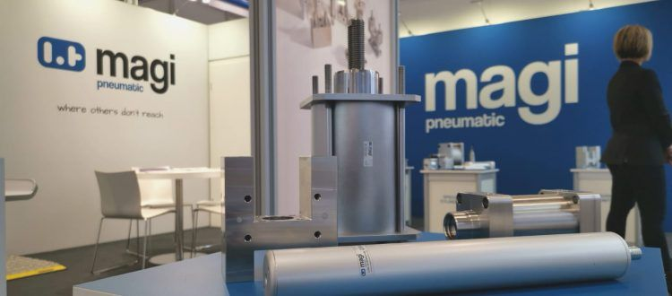 Magi pneumatic cylinders in Hannover messe 2019