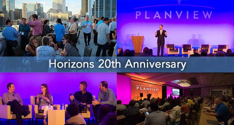 Celebrating 20 years of the Planview Customer Conference