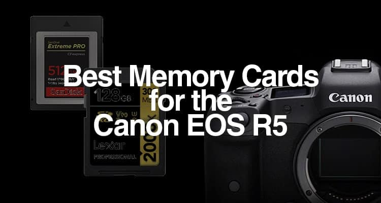 Best Memory Cards for the EOS R5Canon