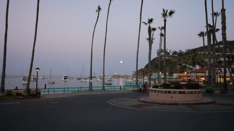 Avalon, Catalina Islands, California, Beach view