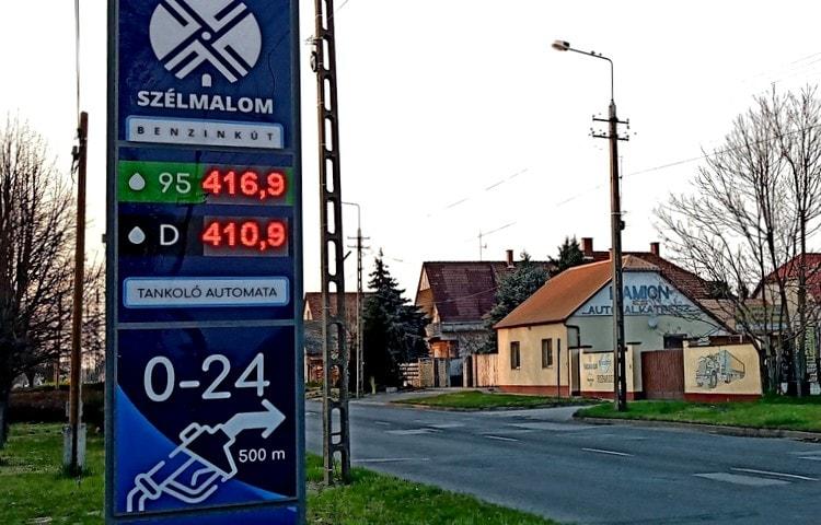 Drágább lesz a benzin, mint a gázolaj