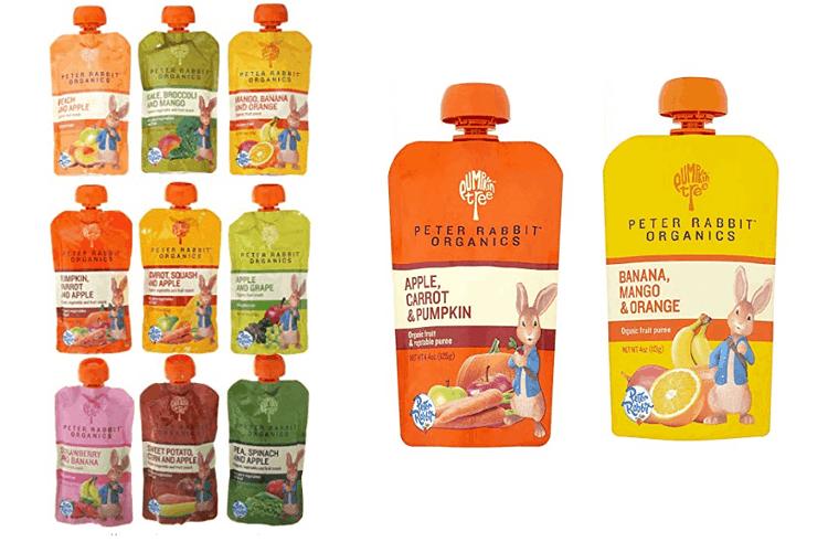 Peter Rabbit Organic Baby Food