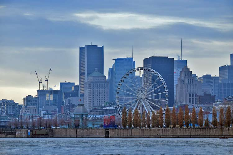 Montreal downtown skyline photo